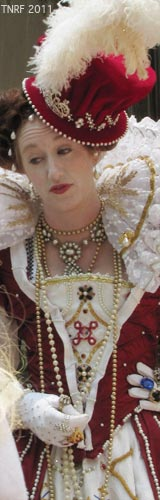 Queen Elizabeth at 2011 Tennessee Renaissance Festival